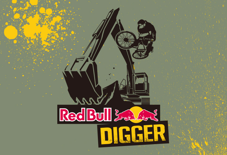 RED BULL DIGGER LOGO