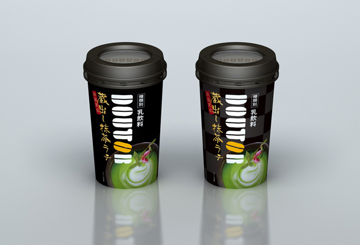 DOUTOR macha late chilled package
