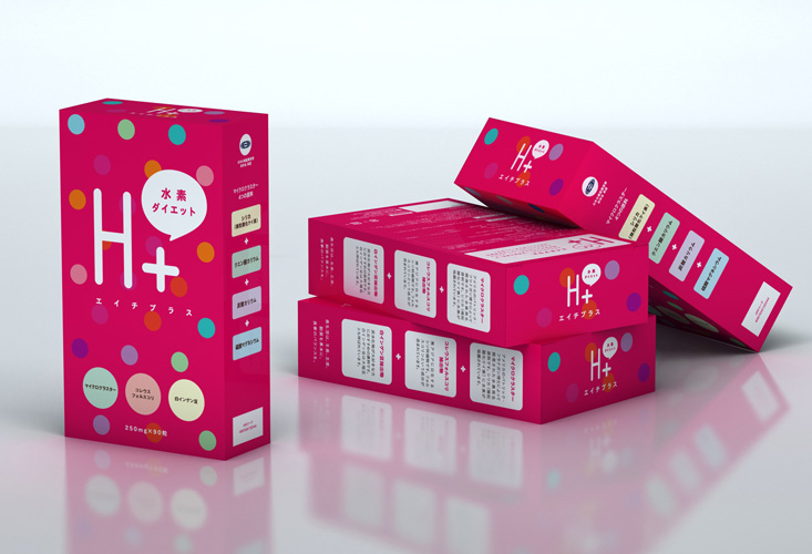 H plus Package Design