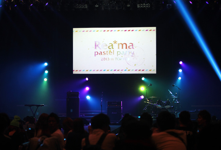 Rea*ma pastel party 2013 in TOKYO stage movie